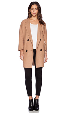 BLQ BASIQ Trench Coat in Camel