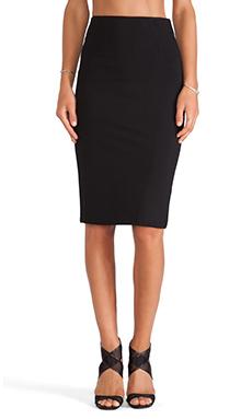 BLQ BASIQ Pencil Skirt in Black