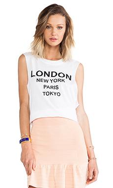 LONDON NEW YORK MUSCLE TEE