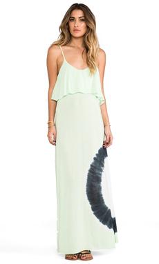 Blue Life Summer Lovin' Maxi Dress in Key Lime Tie Dye