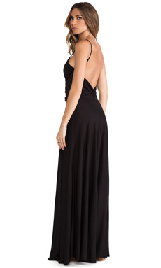 Blue Life Sunbeam Maxi Dress in Black