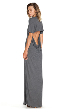 Blue Life Back Side Maxi in Smokey Grey