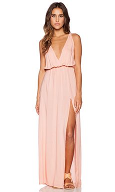 Blue Life High Tide Maxi Dress in Pink