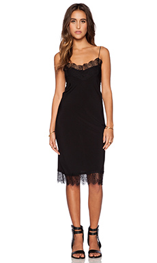 Blue Life Peacock Lace Dress in Black