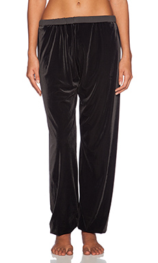 Blue Life Luscious Roll Over Pant in Onyx