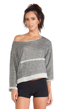 Blue Life Fit Slouchy Pullover in Midnight