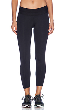 Blue Life Fit Silhouette Legging in Black