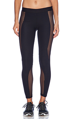 Blue Life Fit Silhouette Riding Legging in Black