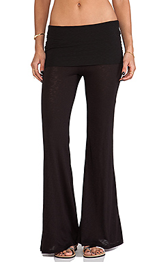 Blue Life Daydreamer Flare Pant in Black