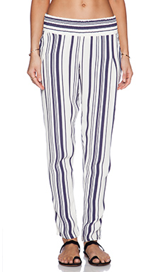Blue Life Gypsy Pant in Navy Stripe