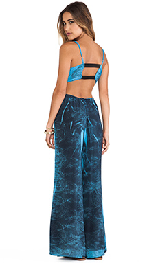 Blue Life Bare it All Jumper in Blue Lace