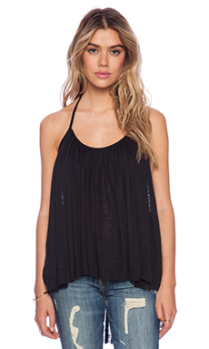 Blue Life Com-pleat Me Top in Black