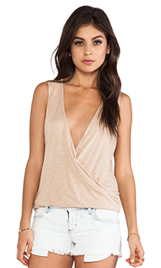 Blue Life Sleeveless Haley Top in Nude