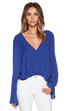 Blue Life Haley Top in Atlantic Blue