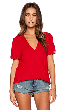 Blue Life Valentina Top in Red