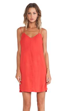 Bella Luxx Cami Slip Dress in Cardinal