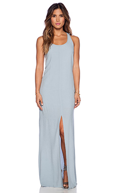 Bella Luxx Cross Back Maxi Dress in Lake Blue