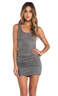 Bella Luxx Slouchy Tank Dress in Ash Heather