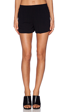Bella Luxx Track Short in Black