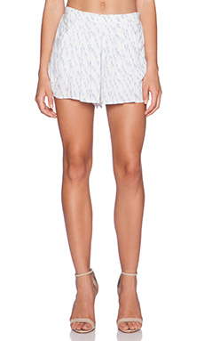 Bella Luxx Pleated Palazzo Short in Moab Print