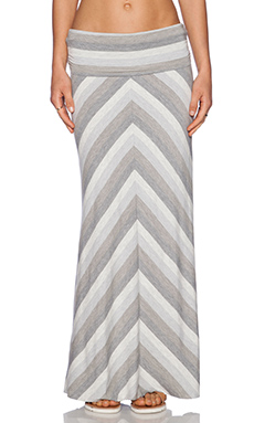 Bella Luxx Maxi Skirt in Dubai Stripe