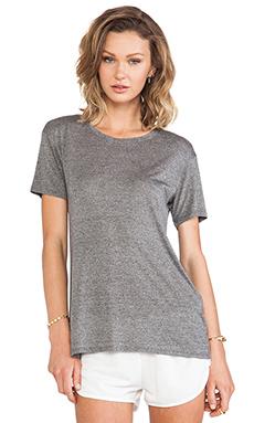 Bella Luxx Tissue Short Sleeve in Ash Heather