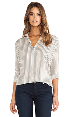 Bella Luxx Oversized Blouse in Santiago Stripe