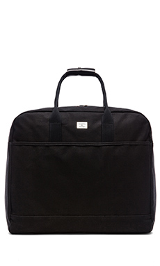 Billykirk No. 330 Military Duffle in Black Wax W/ Black