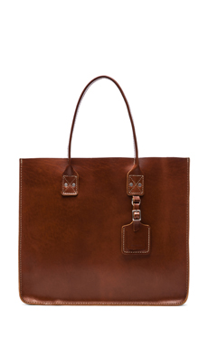 Billykirk No. 235 Leather Tote in Tan