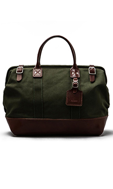 Billykirk No. 165 Medium Carryall en Olive/Brown