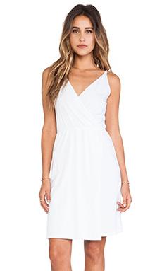 Bobi Supreme Jersey Tank Dress in White