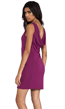 Bobi BLACK LABEL Tank Dress in Fuchsia
