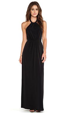 Bobi BLACK LABEL Maxi Halter Dress in Black