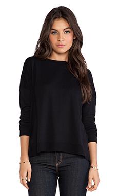 Bobi Pullover Sweater in Black