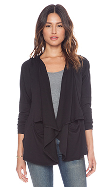 Bobi Cardigan Sweater in Black