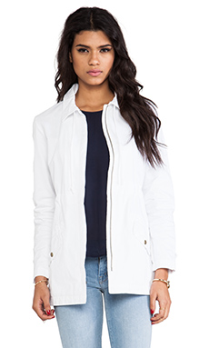 Bobi Woven Jacket in White
