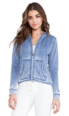 Bobi Enzyme Washed Sweatshirt in Blue