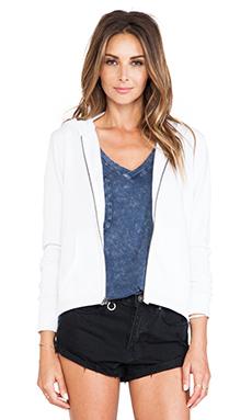 Bobi Enzyme Wash Sweatshirt in White