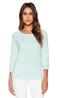 Bobi Vintage Heavy Sweatshirt in Bubble Blue
