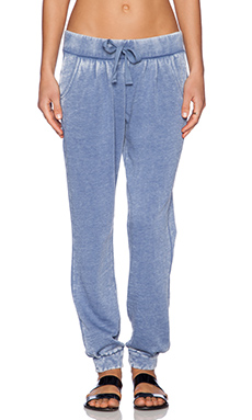 Bobi Enzyme Wash Sweatpant in Blue