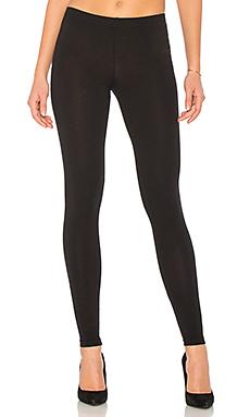 Bobi Cotton Lycra Pants in Black