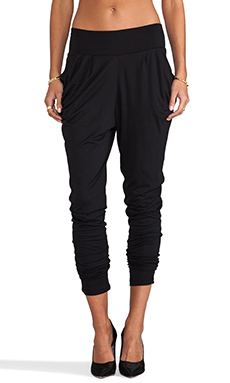 Bobi Harem Pant in Black