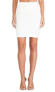 Bobi Ponte Skirt in Light