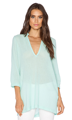 Bobi Gauze Tunic in Bubble Blue