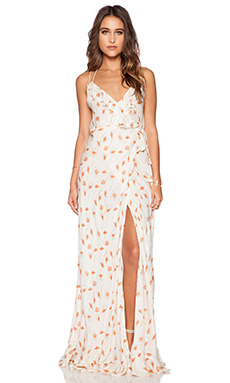 bohemian BONES The Experience Dress in Wishflower print