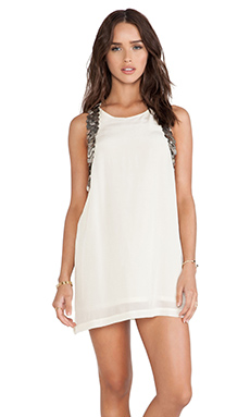 bohemian BONES Muscle Dress in Ivory
