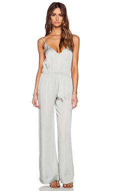 bohemian BONES Happy Hour Jumpsuit in Silver
