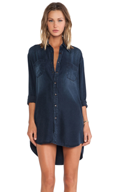 Black Orchid Denim Dress in Not So Blue