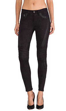 Black Orchid Biker Legging in After Dark