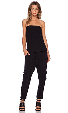 Black Orchid Jumpsuit in Liquorice